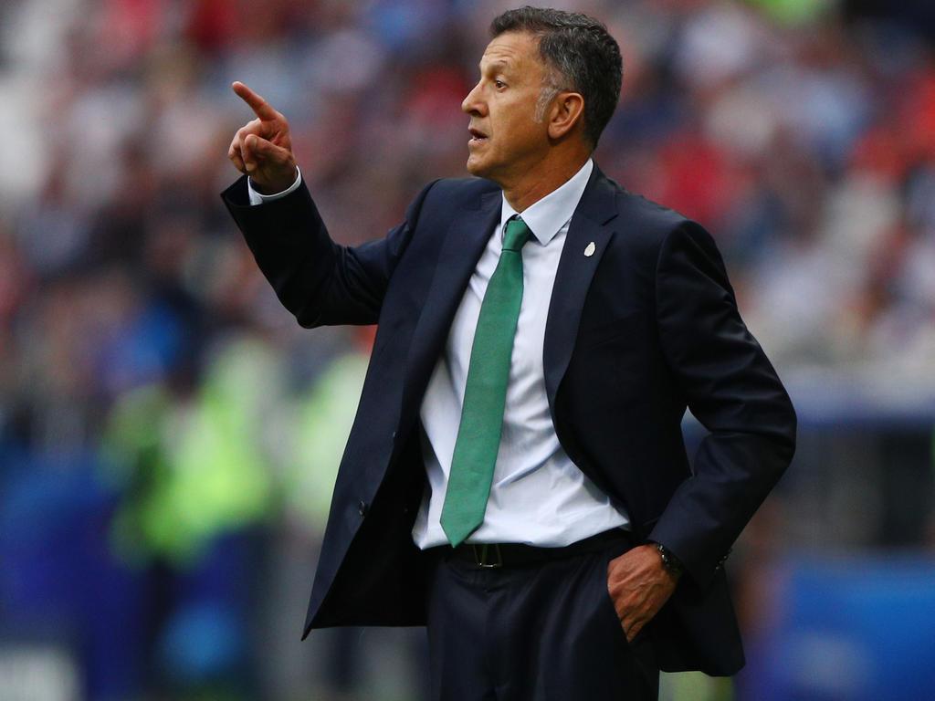 """Der Trainer von Mexikos """"El Tri"""": Juan Carlos Osorio bereitet sein Team mit ausgesuchten Testspielen auf die WM vor"""