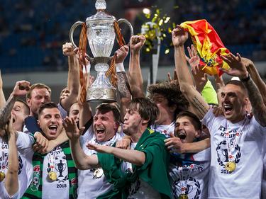 Der FK Tosno durfte den russischen Pokalsieg bejubeln