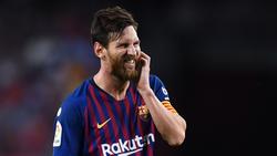 Lionel Messi ist erstmals seit zwölf Jahren nicht unter den Top Drei