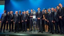 Die deutsche Delegation freut sich über die Ausrichtung der EURO 2024