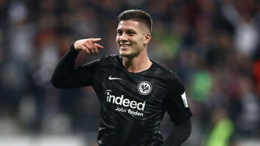 Luka Jovic hat bei Eintracht Frankfurt einen Lauf