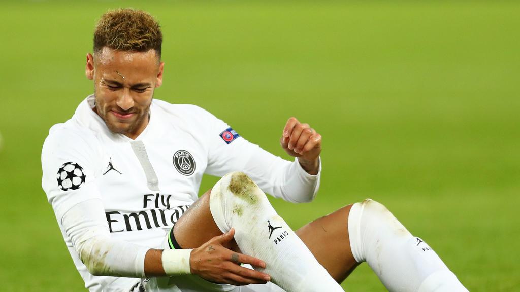 Neymar musste zuletzt aufgrund von Adduktorenproblemen aussetzen