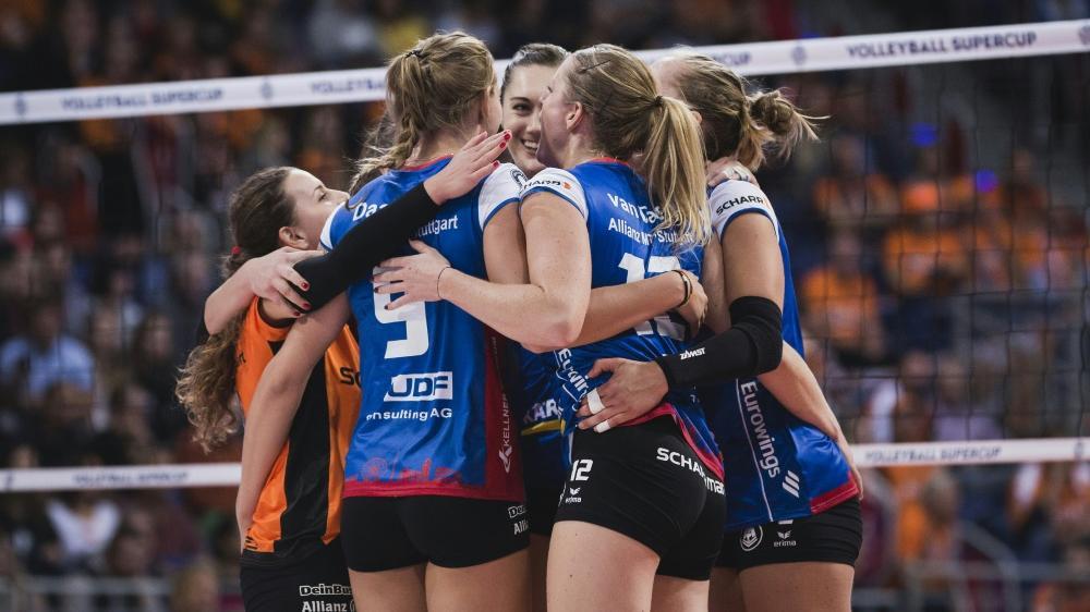 Allianz MTV Stuttgart erreicht das Finale des DVV-Pokals