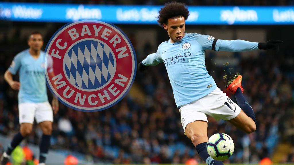 Leroy Sané soll beim FC Bayern im Gespräch sein