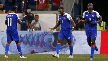 Haití ganó por primera vez en la historia a Costa Rica.