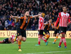 Snodgrass feiert sein Tor gegen Southampton