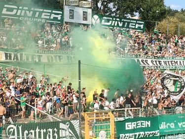 Die Fans der BSG Chemie und von Lok fiebern auf das Leipzig-Derby hin