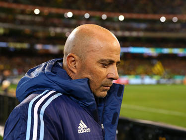Sampaoli en su debut ante Brasil (Foto: Getty)