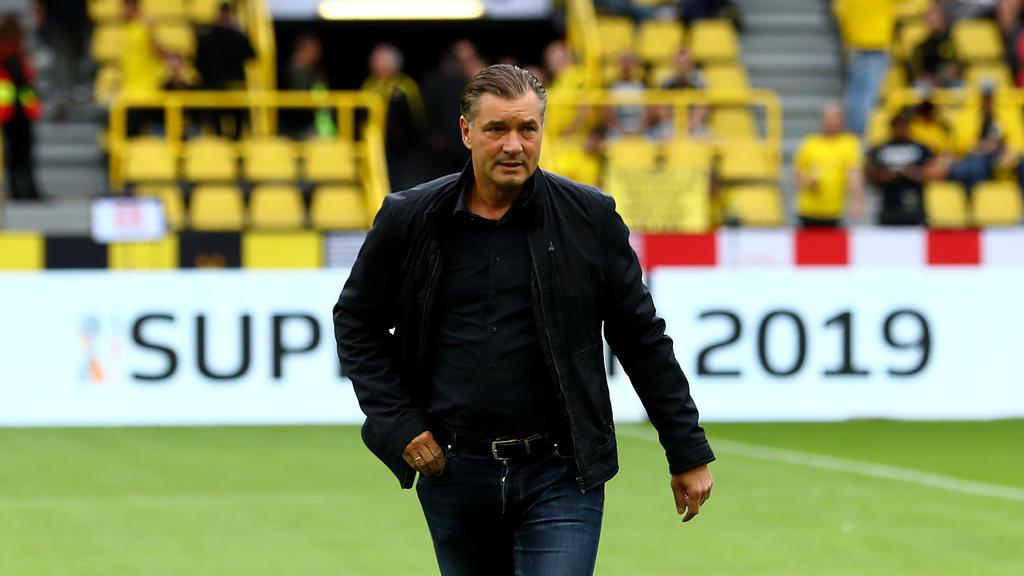 BVB-Sportdirektor Michael Zorc hat sich zur bevorstehenden Vertragsverlängerung von Raphael Guerreiro geäußert