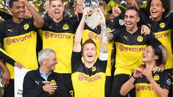 Wenn es nach dem BVB geht, bleibt der Supercup nicht der einzige Titel der Saison