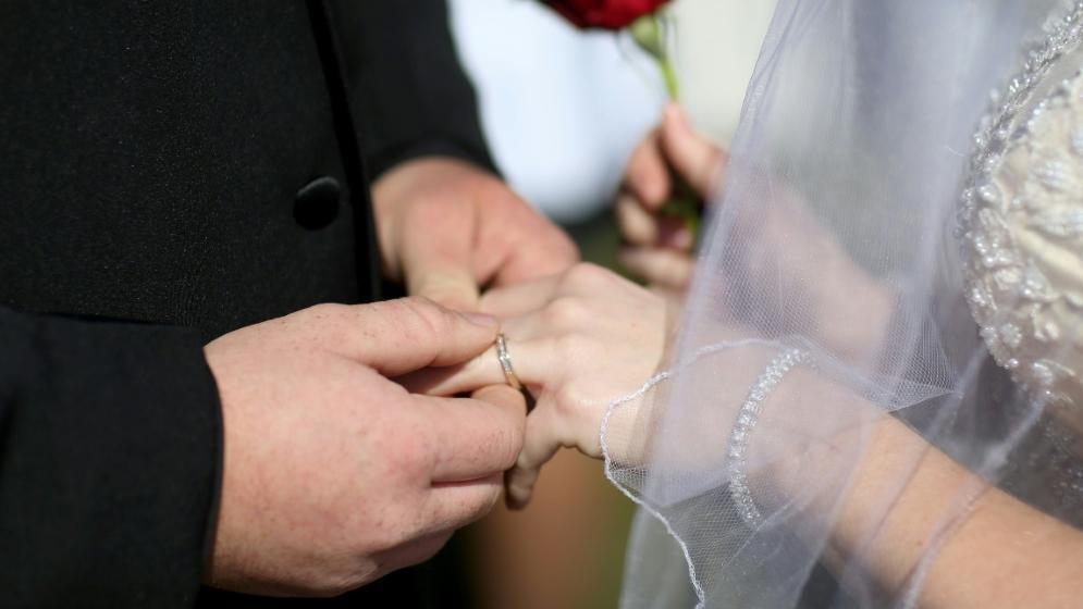 Lieber Hochzeit als Viertliga-Spiel