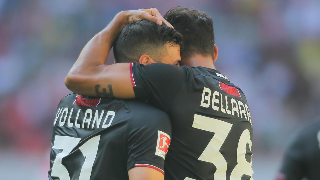 Kevin Volland und Karim Bellarabi überragten in Düsseldorf