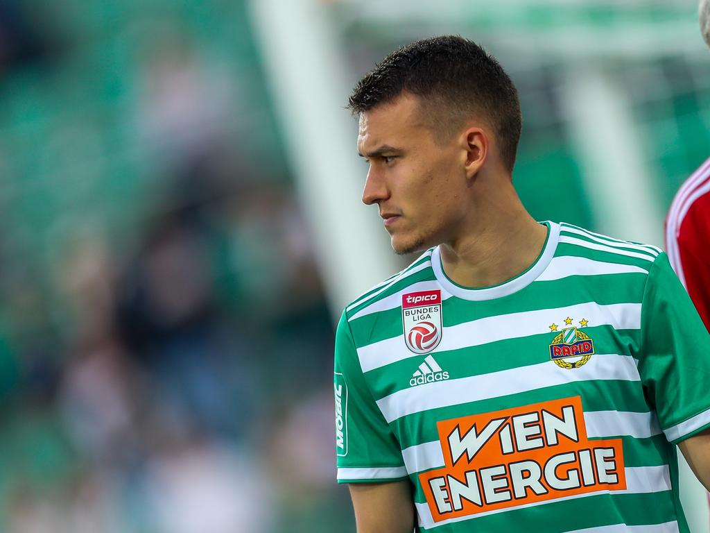 Glück im Unglück für Rapids Dejan Ljubičić