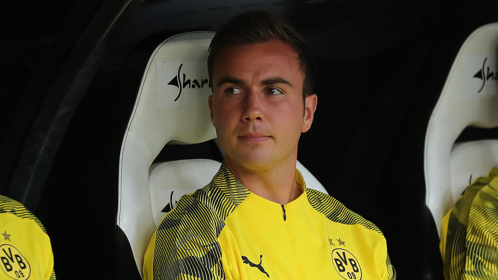 Mario Götze wurde erst in der Nachspielzeit eingewechselt