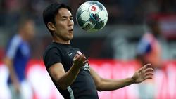 Eintracht-Spieler Makoto Hasebe hatte sich im Spiel bei Union Berlin eine Gehirnerschütterung zugezogen