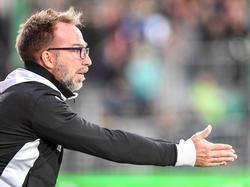 Roman Mählich will nach drei Niederlagen wieder einen vollen Erfolg feiern