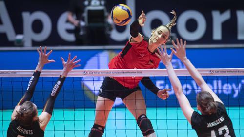 Das DVV-Team setzte sich gegen Belgien durch