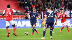 Messi jugó por primera vez con la camiseta del PSG.