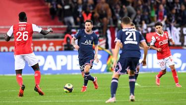 Lionel Messi spielte erstmals für PSG