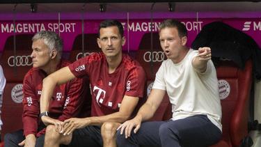 Ein gutes Trio beim FC Bayern: Zembrod, Toppmöller und Nagelsmann