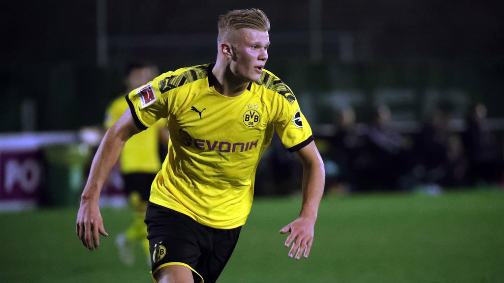 Erling Haaland ist der neue Youngster des BVB
