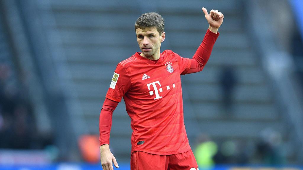 Thomas Müller gehört beim FC Bayern wieder zum Stammpersonal