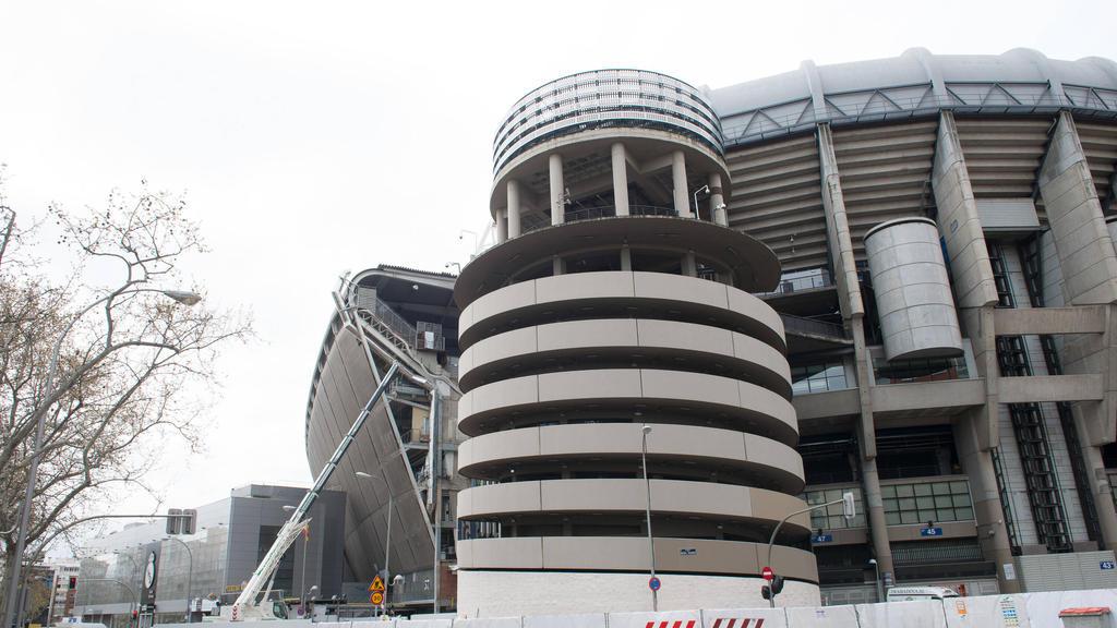 皇家马德里的伯纳乌用作医疗仓储中心