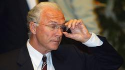 Franz Beckenbauer hielt beim Bankett des FC Bayern 2001 eine flammende Wutrede