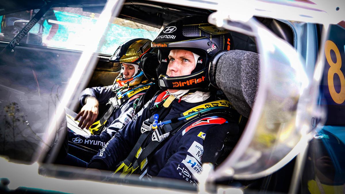 Ott Tänak hat die erste Rallye nach der Corona-Pause gewonnen