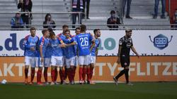 Holstein Kiel hat Fortuna Düsseldorf bezwungen