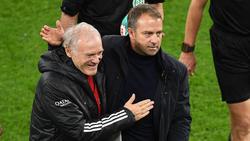 Erfolgsduo beim FC Bayern: Hermann Gerland (l.) und Hansi Flick (r.)