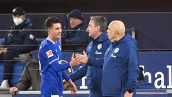 Auf Matthew Hoppe (l.) sollen nicht die Schalker Hoffnungen allein ruhen