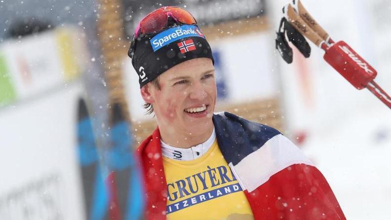 Wird für seine Coolness vom deutschen Langlauf-Chef gelobt: Johannes Hoesflot Kläbo aus Norwegen