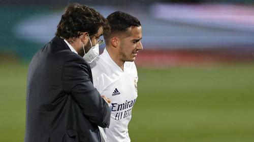 Lucas Vázquez fällt für den Rest der Saison aus