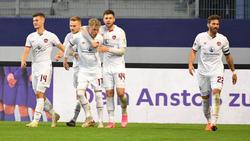 Der 1. FC Nürnberg hat einen wichtigen Dreier geholt