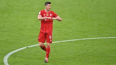 Robert Lewandowski fühlt sich beim FC Bayern wohl