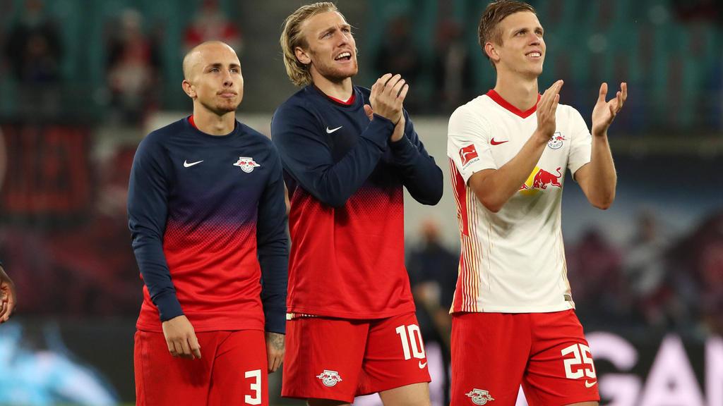 Dani Olmo (r.) wäre laut Philipp Lahm der perfekte Spieler für den FC Bayern