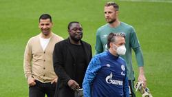 Simon Henzler (r.) ist nicht mehr Torwarttrainer beim FC Schalke 04