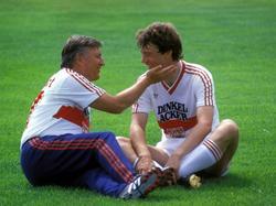Der Coach und sein Schützling