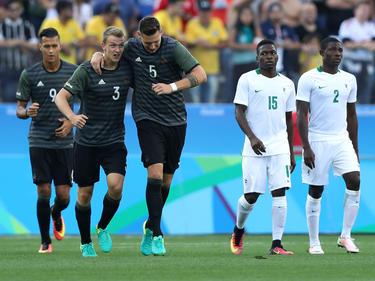 Die deutsche Mannschaft bezwang Nigeria