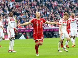 Robben no podrá estar con sus compañeros ante el Besiktas. (Foto: Getty)