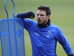Nicolai Müller hat kein leichtes Jahr beim HSV hinter sich