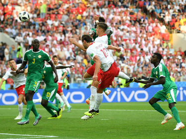 Senegal se impuso a Polonia por 1-2 en un duelo disputado. (Foto: Getty)