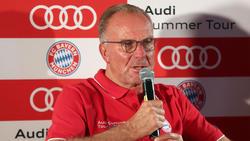 Hat ein Ohr für kritische Bayern-Spieler:Karl-Heinz Rummenigge