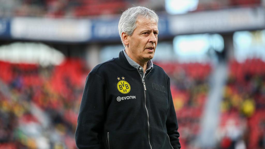 BVB-Coach Lucien Favre ist zur Zeit extrem erfolgreich