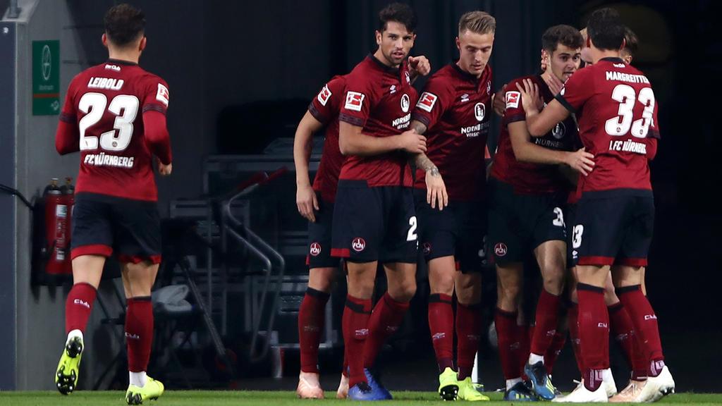 Der Club rettete noch einen Punkt in Augsburg