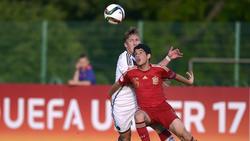Schalke-Flirt Dani Morer (v.) spielte auch für die Spaniens U17