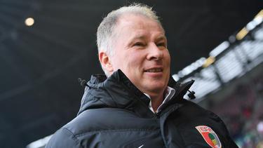 Stefan Reuter glaubt weiter an den FC Augsburg