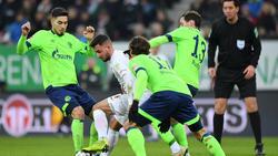 Der FC Schalke kam in Augsburg nicht über ein 1:1 hinaus