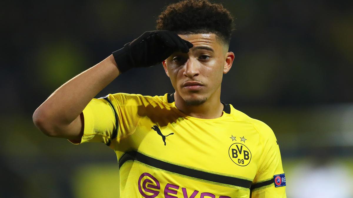 Verlässt Jadon Sancho den BVB in Richtung Manchester United?